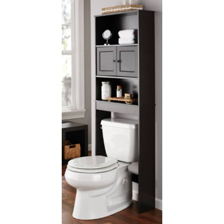Brilliant Mainstays Bathroom Space Saver Espresso Brickseek Home Interior And Landscaping Staixmapetitesourisinfo