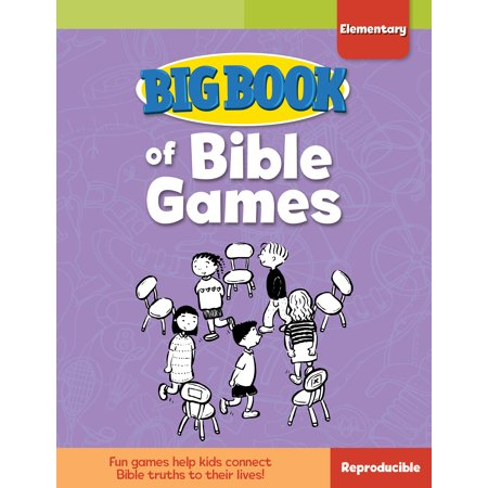 Big Book of Bible Games for Elementary Kids - Elementary School Halloween Game Ideas