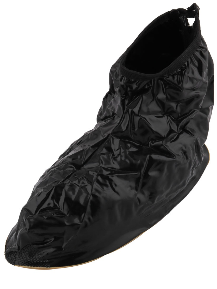 Anti-Slip Reusable Water Resistant Rain Shoes Overshoes Boot Gear Cover Pair by Unique-Bargains