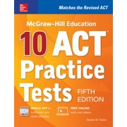 McGraw-Hill Education: 10 ACT Practice Tests, Fifth Edition (Paperback)