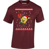 SpongeBob Christmas Shirts for Men SpongeBob T-shirts Xmas Gifts Men T-shirt