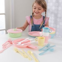 KidKraft 27-Piece Pastel Cookware Playset Deals