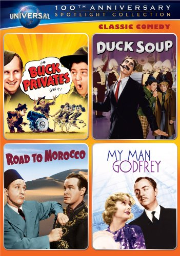 Classic Comedy Spotlight Collection: Buck Privates   Duck Soup   Road To Morocco   My Man Godfrey (Universal... by UNIVERSAL HOME ENTERTAINMENT