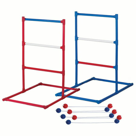 Franklin Sports Ladder Ball Set - Red, White, and Blue Golf Toss Set Includes 2 Ladder Ball Targets with Weighted Base and 6 Bolas - American Series