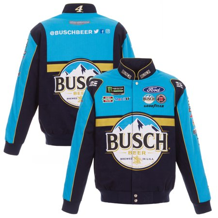 Kevin Harvick JH Design Busch 2019 Full-Snap Twill Uniform Jacket - (Best Outdoor Jackets 2019)