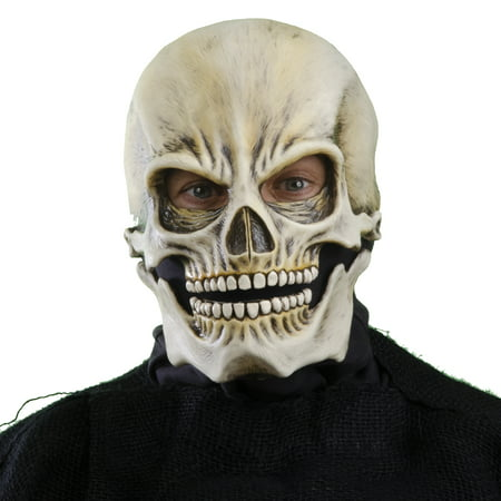 Zagone Studios Classic Sock Skull Latex Halloween Adult Costume Mask (one size)
