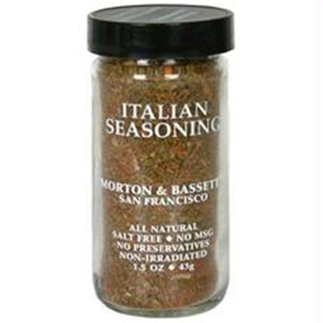 Morton & Bassett B28810 Morton & Bassett Italian Seasoning  -3x1. 2oz