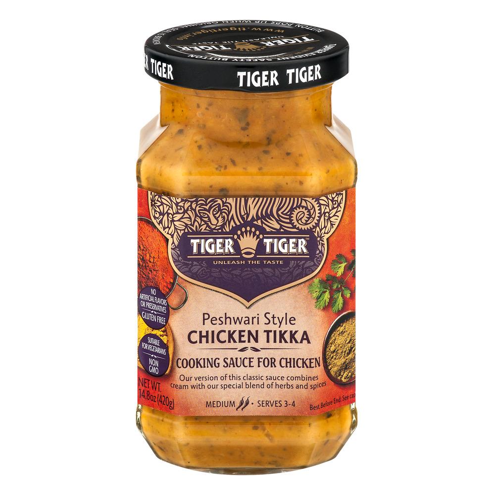 Tiger Tiger: Simmer Sauce Chili Strength Medium Peshwari ...