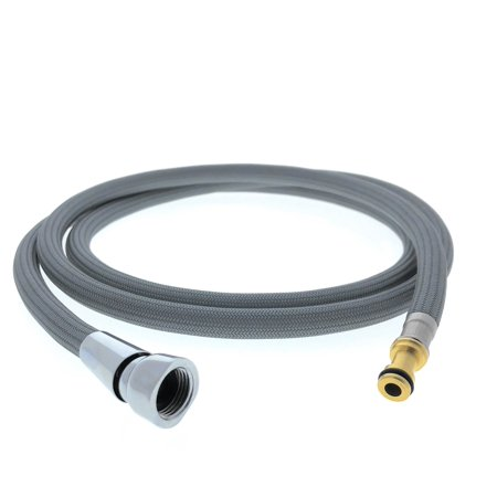 Pulldown Replacement Spray Hose For Moen Kitchen Faucets 150259 Beautiful Strong Nylon Finish Sized Right At 68 Inches Fits In Place Of Moen