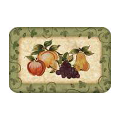 BuyMATS Inc. Cushion Comfort Fruit Platter Kitchen Mat