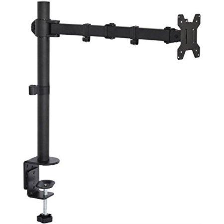 - VIVO Single LCD Monitor Fully Adjustable/Tilt up to 27'' Desk Mount Stand