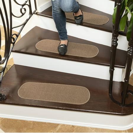 Ottomanson Escalier Skid Resistant Rubber Back Non Slip