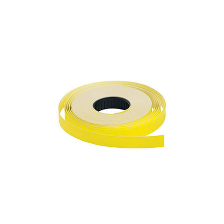 Yellow SSW 1-Line Pricing Gun Labels  3/4