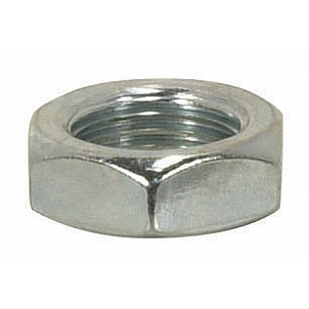 Satco Steel Locknut 1/8 IP 9/16in hex 3/16in thick