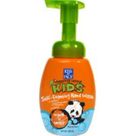 Kids Orange U Smart Foaming Hand Wash Kiss My Face 8 oz Liquid