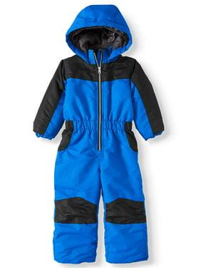 Iceburg Baby Toddler Boy Insulated One-Piece Snowsuit