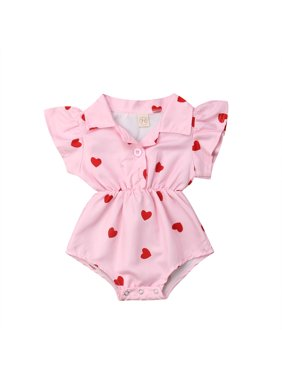 Baby Bodysuit Baby Girl Summer Flying Sleeve Cute Rabbit Print Bodysuit Jumpsuit Backless Cross Outfits Baby Girl Clothes Easter Bodysuits & One-pieces Bodysuits