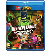 Lego DC Comics Super Heroes: Justice League Gotham City Breakout (Blu-ray + DVD) by