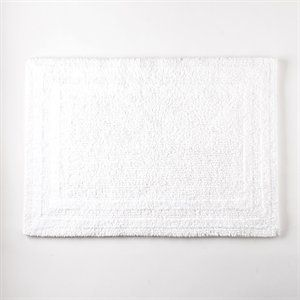 Home Source International Reversible Cotton Bath Rug Extra Large