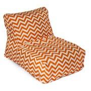 HRH Designs Indoor/Outdoor Beanbag Chair - Chevron