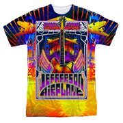 Jefferson Airplane Men's  San Francisco Sublimation T-shirt White