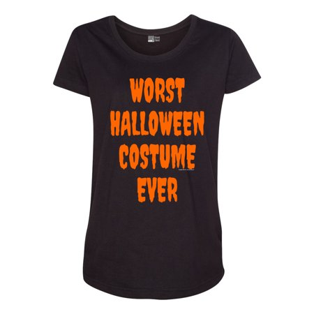 Pregnant Couple Halloween Costumes Funny (Worst Halloween Costume Ever Funny Maternity T-Shirt)
