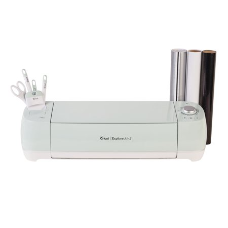 Cricut Explore Air 2 Mint Basic Bundle