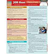 BarCharts 9781423215776 Job Hunt - Resumes Quickstudy Easel
