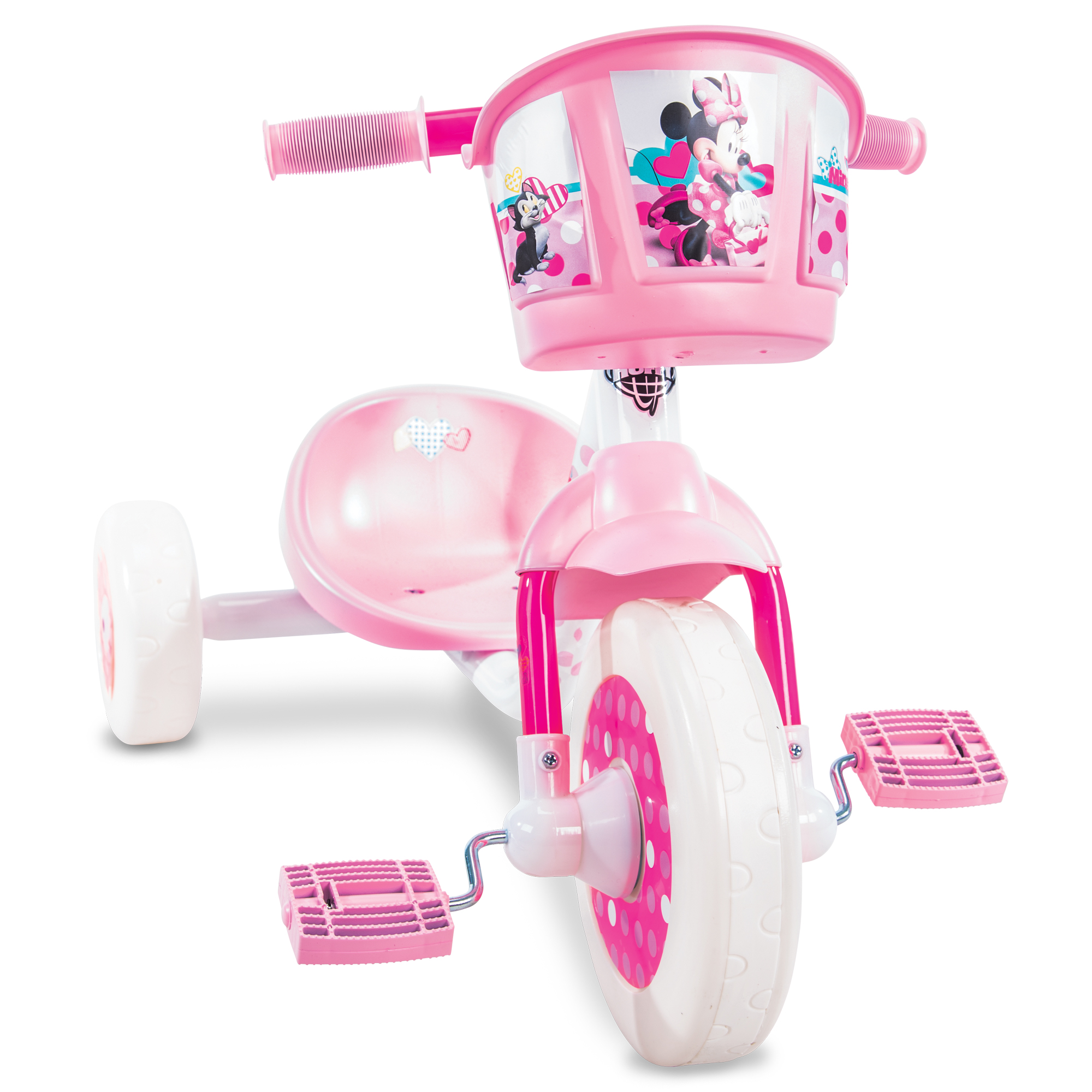 Disney Minnie Girls' 3-Wheel Preschool Pink Tricycle by Huffy  by Huffy