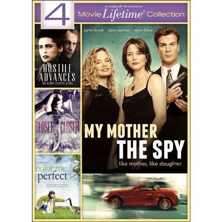 4 Movie Lifetime Collection  Hostile Advances   My Mother The Spy   Closer And Closer   Color Me Perfect