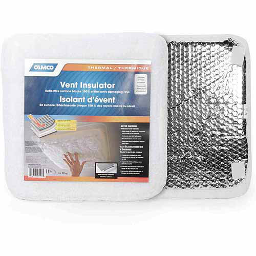 Camco SunShield RV Vent Insulator