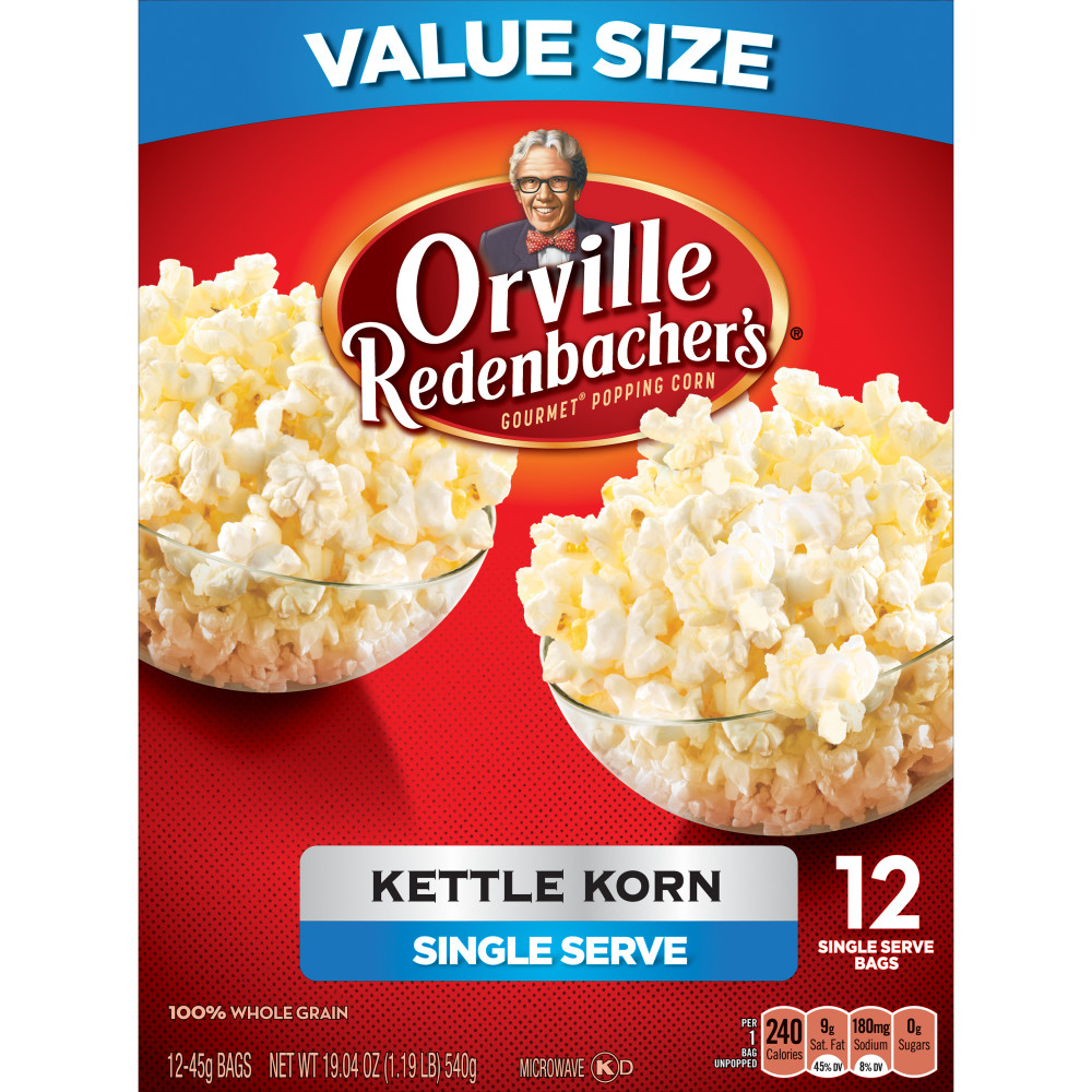 Kettle Corn Nutrition Facts Orville Nutrition Ftempo