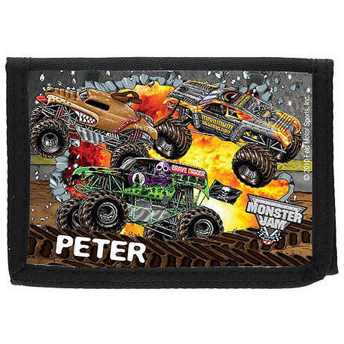 Personalized Monster Jam Madness Wallet