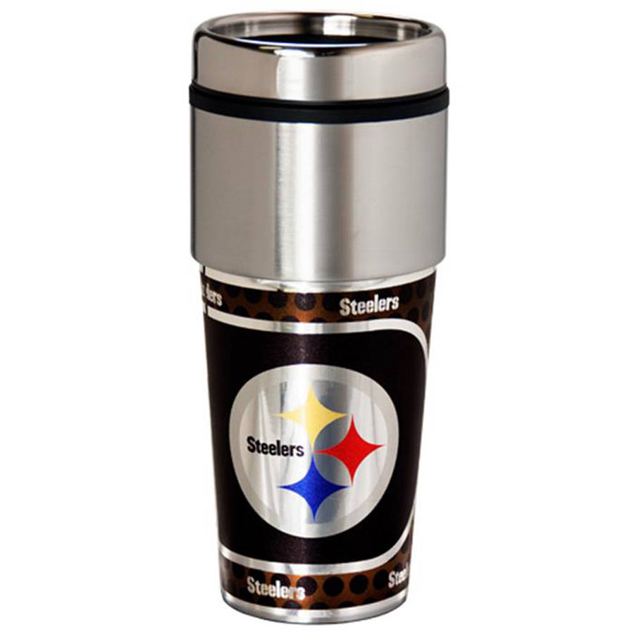 NFL Pittsburgh Steelers Stainless Steel Tumbler