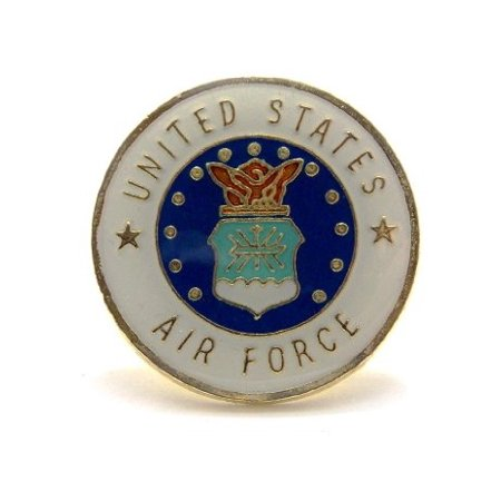 State Design Lapel Pin - United States Air Force Insignia Seal Lapel Hat Pin Military PPM019 (1 pin)