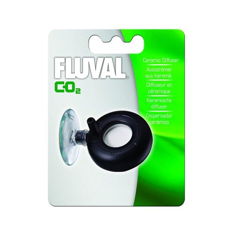 Ceramic 88g-CO2 Diffuser - 3.1 Ounces, Replacement CO2 diffuser and diffuser disc for the Fluval CO2 Supply Set By (Best Co2 Diffuser For Aquaria)