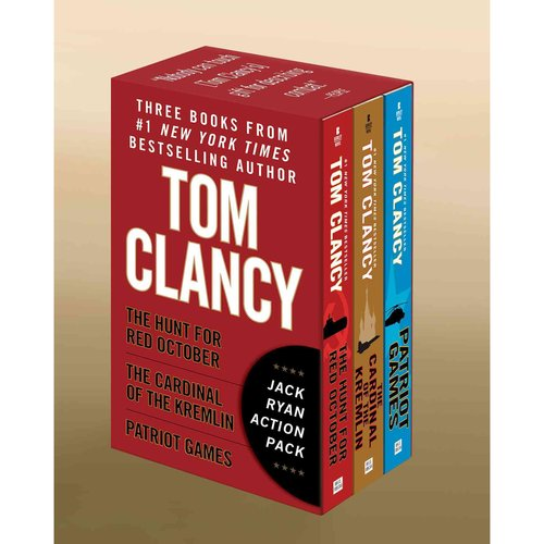 Tom Clancy's Jack Ryan: The Hunt for Red October / the Cardinal of the Kremlin / Patriot Games