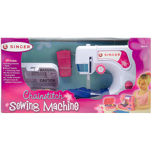 Singer Chainstitch Sewing Machine and Sewing Kit Set