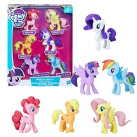 97eb02339 Product Image my little pony meet the mane 6 ponies collection