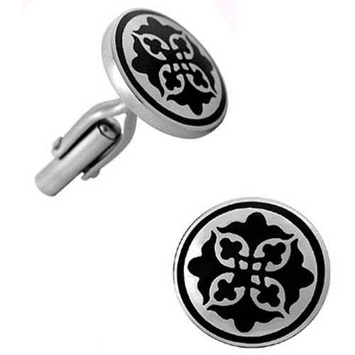 Trendbox Jewelry Stainless Steel Celtic Design Cufflinks