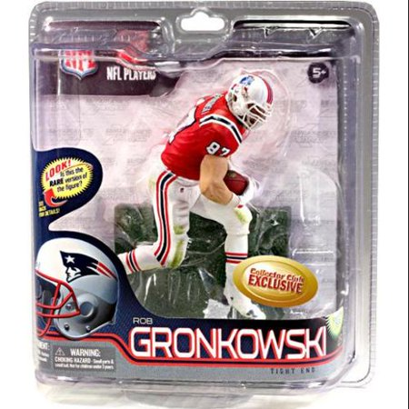 Rob Gronkowski Action Figure Retro Red Jersey Nfl New England Patriots
