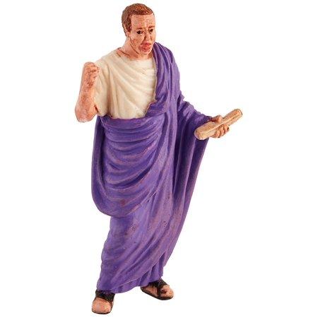 Historical Collections Senator of Ancient Rome, ROMAN SENATOR WITH TRADITIONAL TOGA – Roman senators came from the patrician class in the early.., By Safari Ltd (Senator Roman)