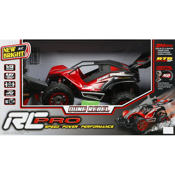 New Bright 1:12 Radio Control 9 6v Pro Dune Rebel
