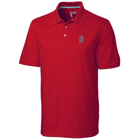 Boston Red Sox CBUK by Cutter & Buck DryTec Fairwood Polo - Red Boston Red Sox Uniform