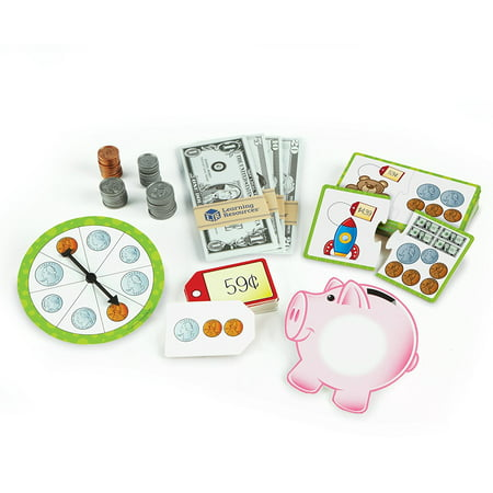 Learning Resources Money Activity Set, Play Money, Ages 5+
