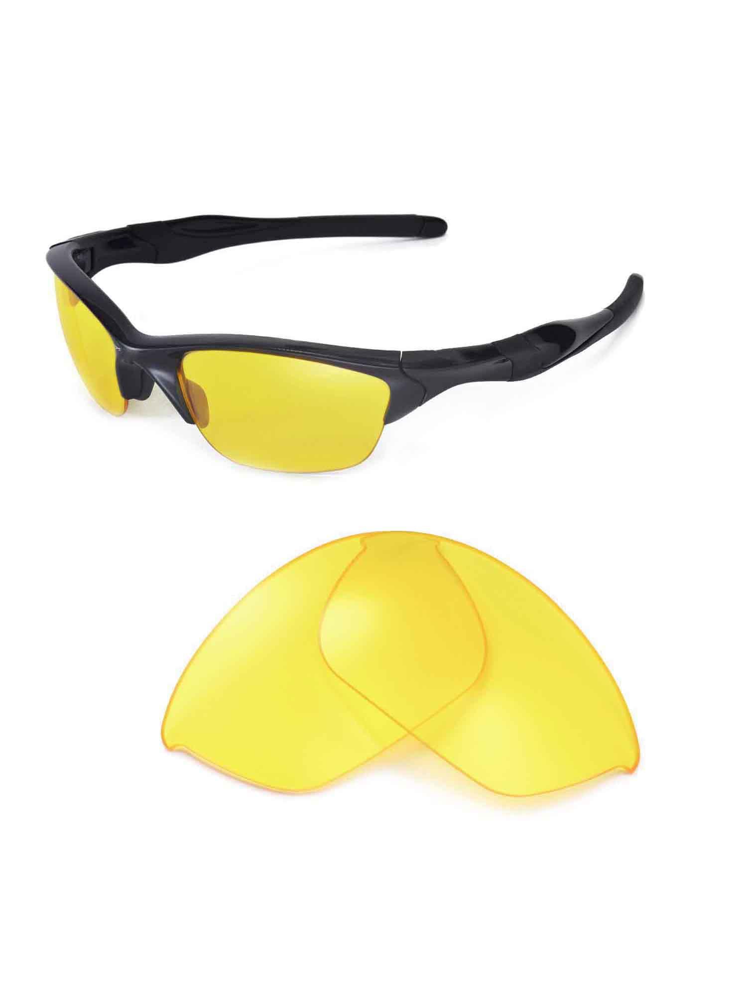 4207614ebe Walleva - Walleva 24K Gold Polarized Replacement Lenses for Oakley Half  Jacket 2.0 Sunglasses - Walmart.com