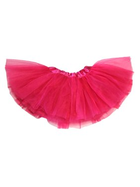 Baby Tutu 5-Layer Ballerina Hot Pink