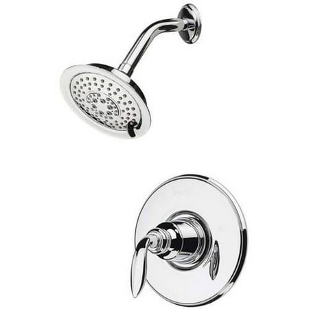 Pfister Avalon Shower Trim Kit with Single Function Rain Shower Head, Available in Various Colors