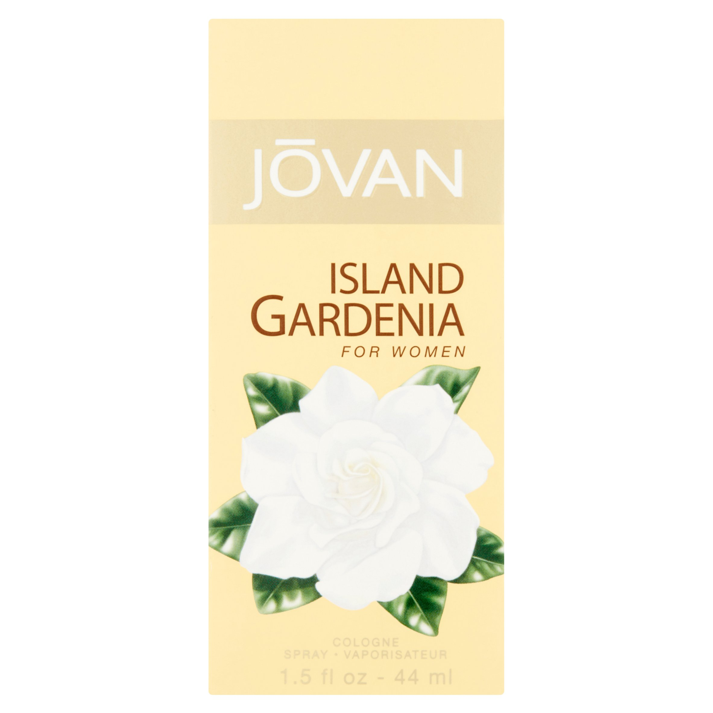 Jovan Island Gardenia Cologne Spray for Women, 1.5 fl oz