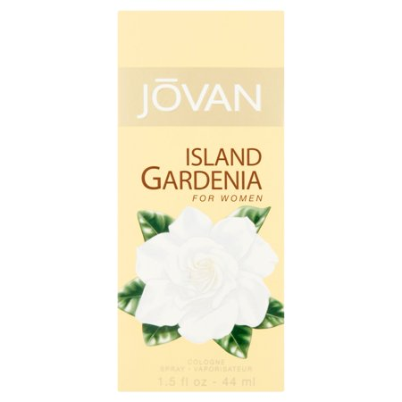 - Jovan Island Gardenia Cologne Spray for Women, 1.5 fl oz